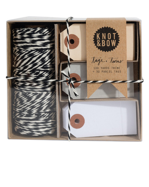 Knot & Bow: Tag & Twine Black