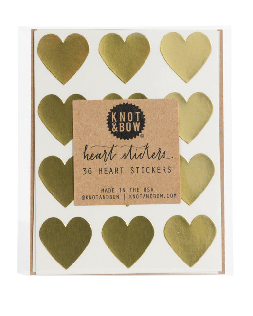 Knot & Bow: Gold Heart
