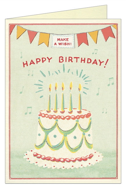 Cavallini & Co: Happy Birthday Cake