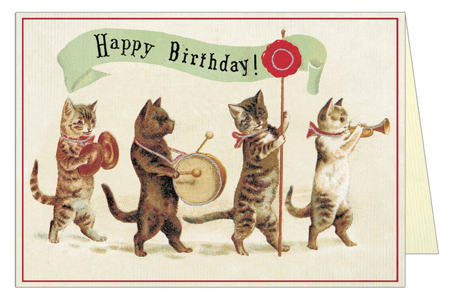 Cavallini & Co: Happy Birthday Cat