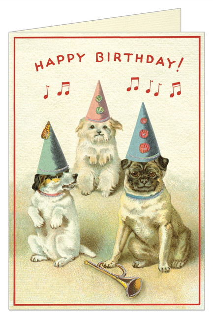Cavallini & Co: Happy Birthday Dogs