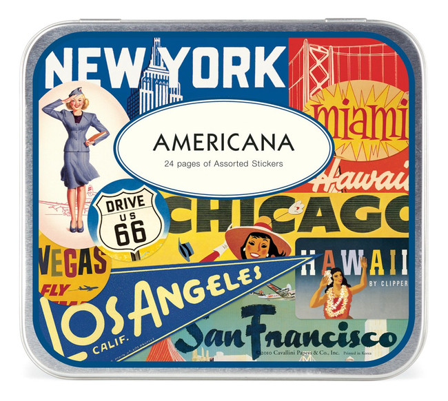 Cavallini & Co: Americana Assorted Stickers