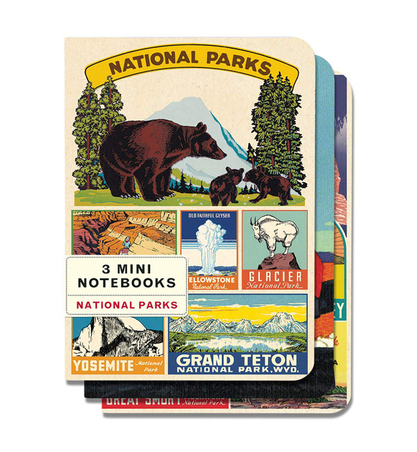 Cavallini & Co: National Parks Mini Notebooks