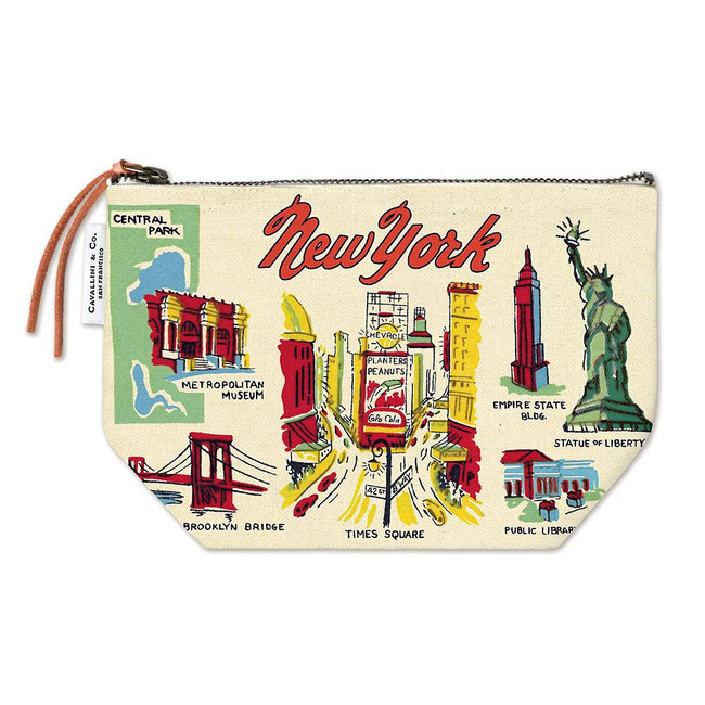 Cavallini & Co: NYC Icons Vintage Pouch