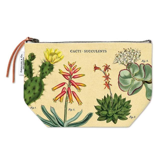 Cavallini & Co: Cacti Succulents Vintage Pouch