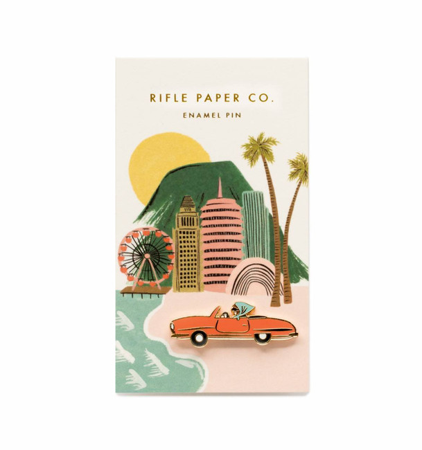 Rifle Paper Co: Car Enamel Pin