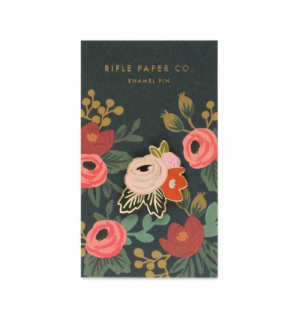 Rifle Paper Co: Rosa Enamel Pin