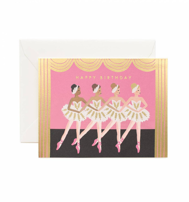 Rifle Paper Co: Birthday Ballet Card