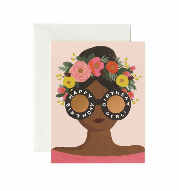 Rifle Paper Co: Flower Crown Birthday Card