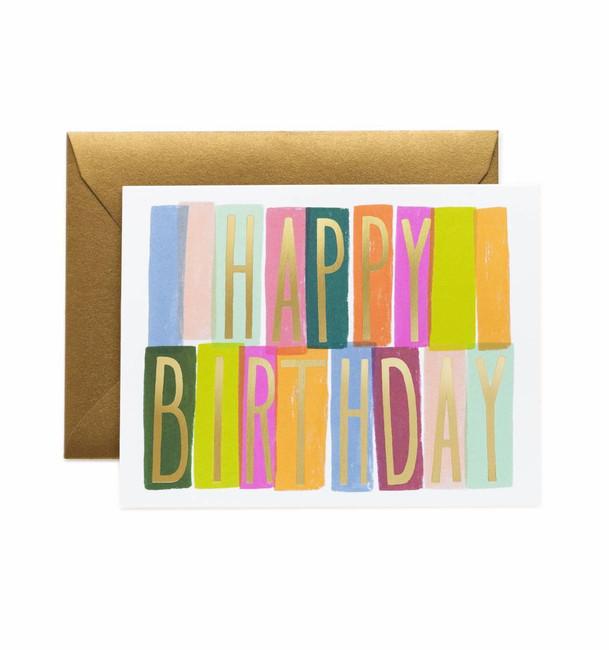 Rifle Paper Co: Merida Birthday Card