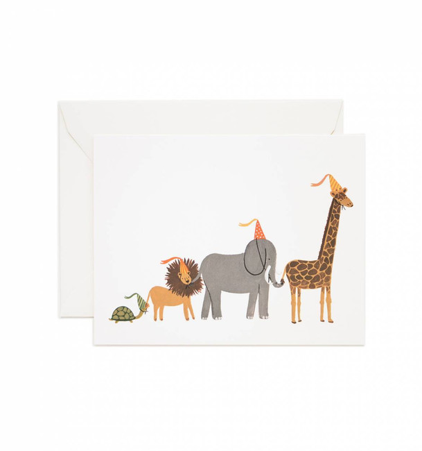 Rifle Paper Co: Set of 8 Party Parade Cards