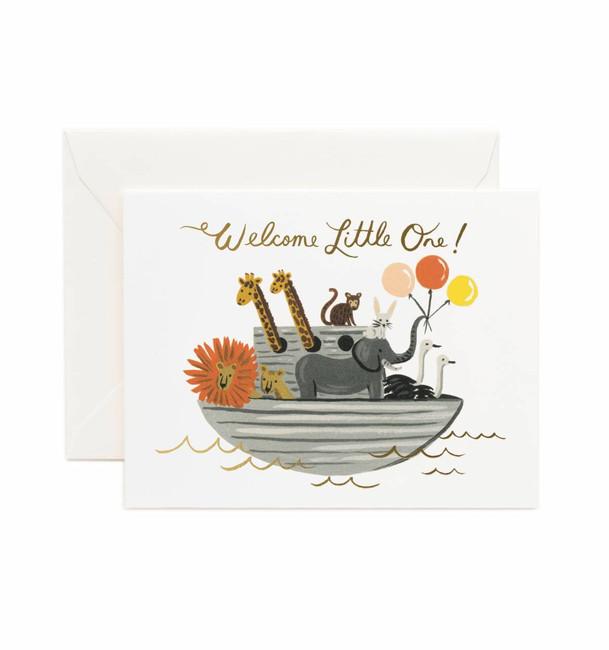 Rifle Paper Co: Noah's Ark Card