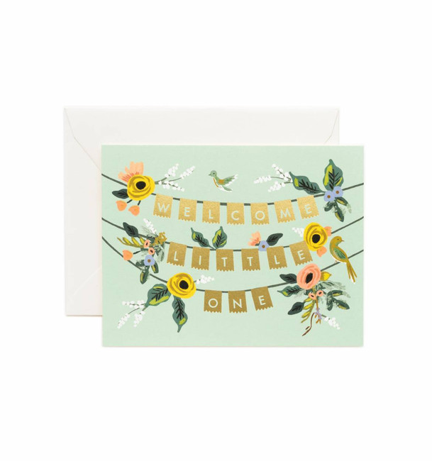 Rifle Paper Co: Welcome Garland Card