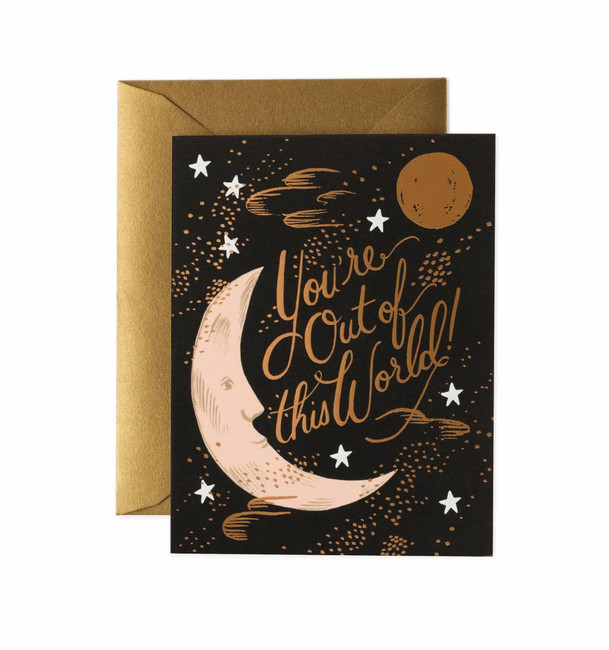 Rifle Paper Co: You're Out of This World Card