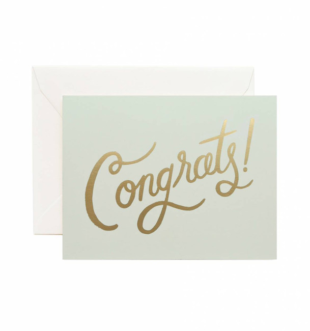 Rifle Paper Co: Timeless Congrats Card