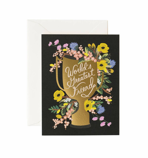 Rifle Paper Co: World's Greatest Friend Card