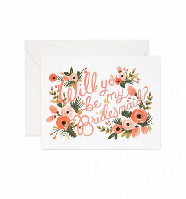 Rifle Paper Co: Will You Be My Bridesmaid? Card