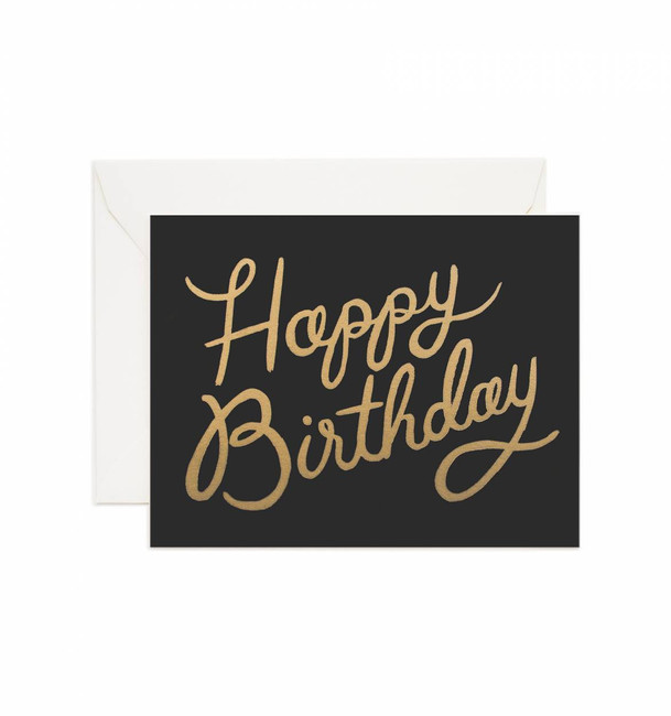 Rifle Paper Co: Shimmering Birthday Card