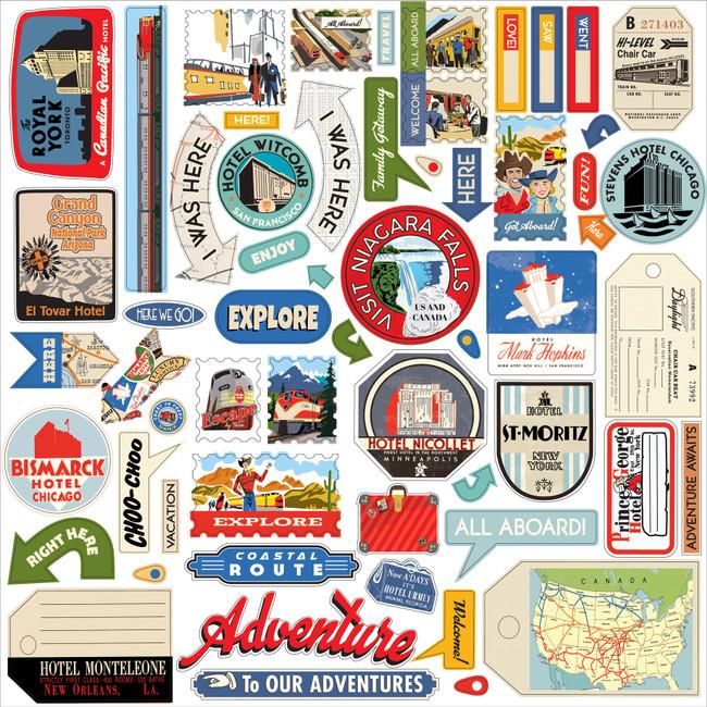 All Aboard: Element Sticker Sheet