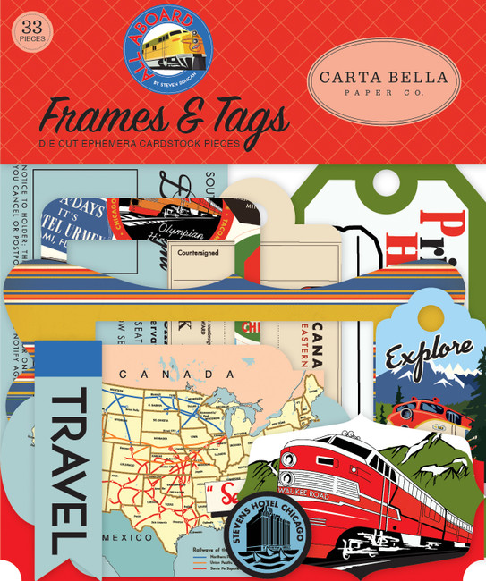 All Aboard: Frames & Tags