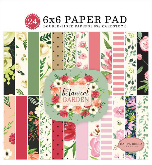Botanical Garden: 6x6 Paper Pad