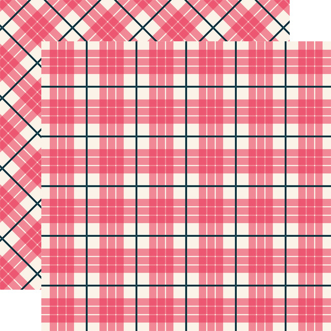 Tartan No. 1: Newport 12x12 Patterned Paper