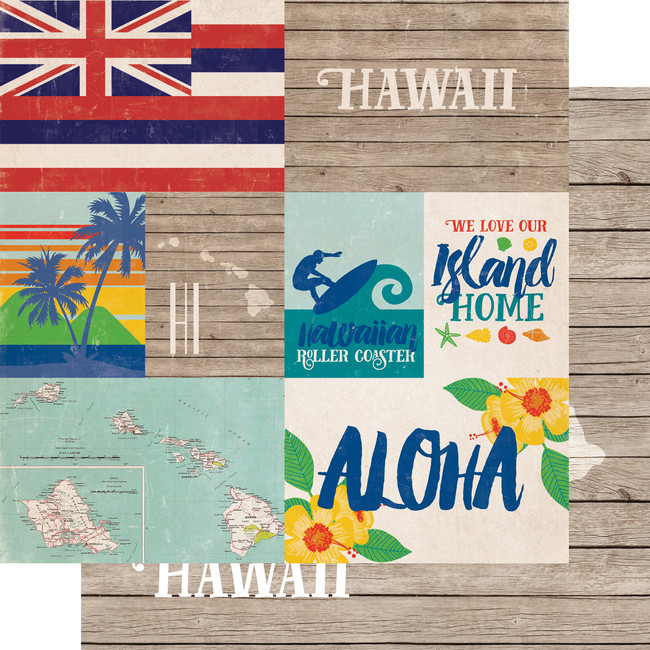 Stateside: Hawaii 12x12 Patterned Paper