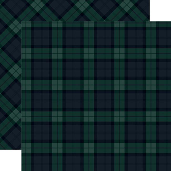Tartan No. 2: Merry Black Watch 12x12 Patterned Paper