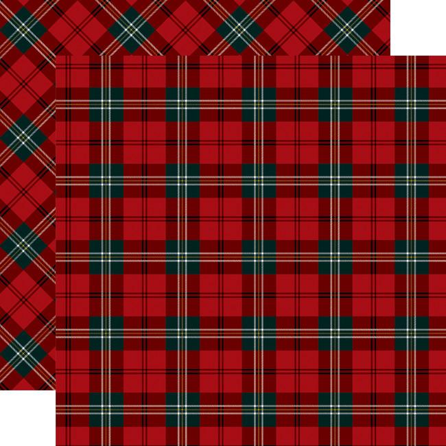 Tartan No. 2: Royal Stewart 12x12 Patterned Paper