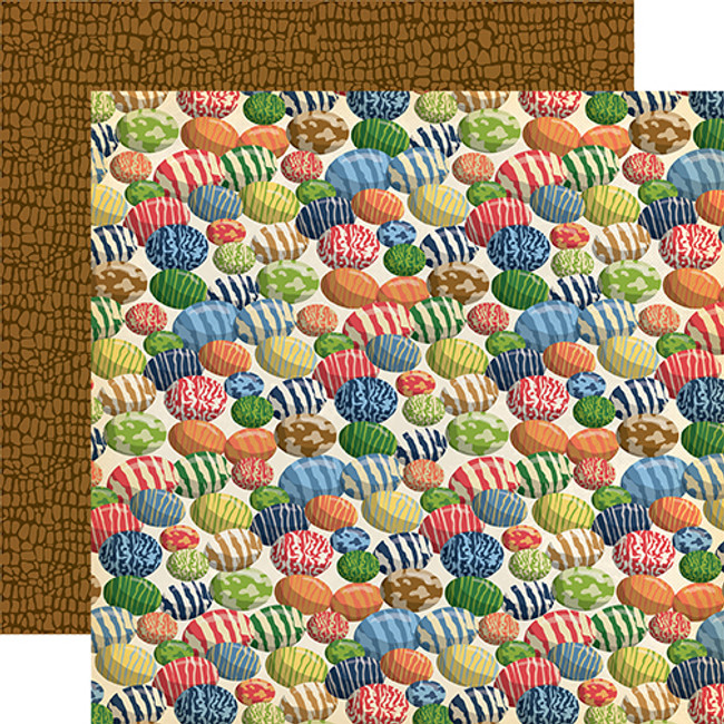 Dinosaurs: Dinosaur Eggs 12x12 Patterned Paper