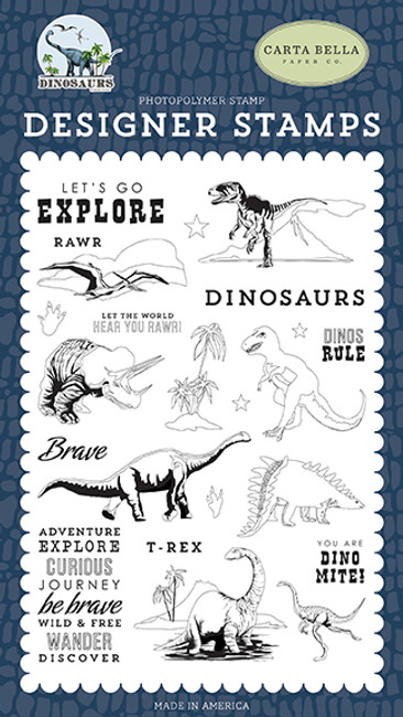 Dinosaurs: Dinos Rule Stamp