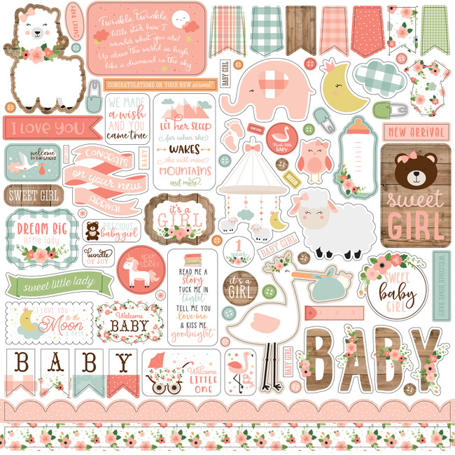Baby Girl: Element Sticker