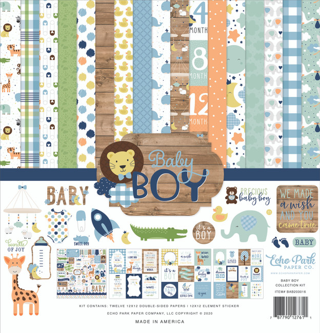 Baby Boy: Collection Kit