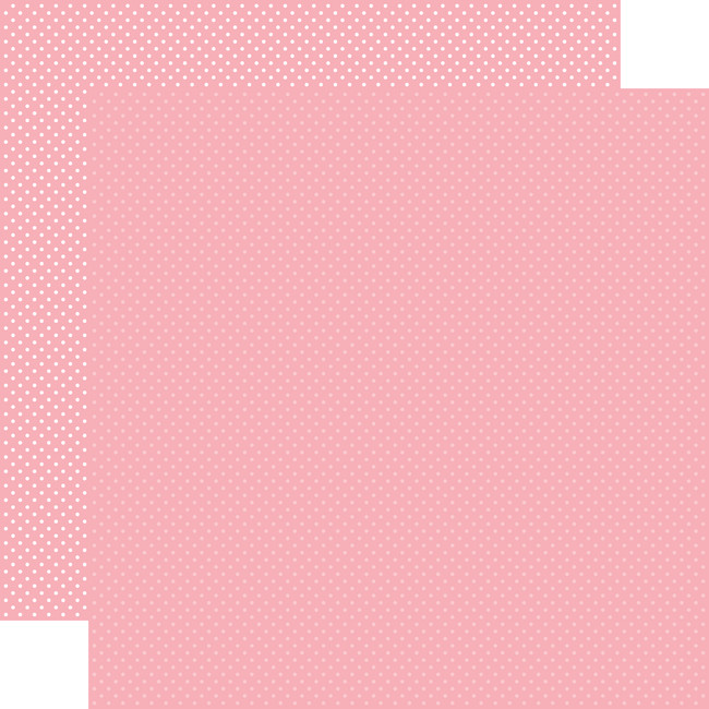 Carta Bella Dots & Stripes: Pink Dots  12x12 Patterned Paper