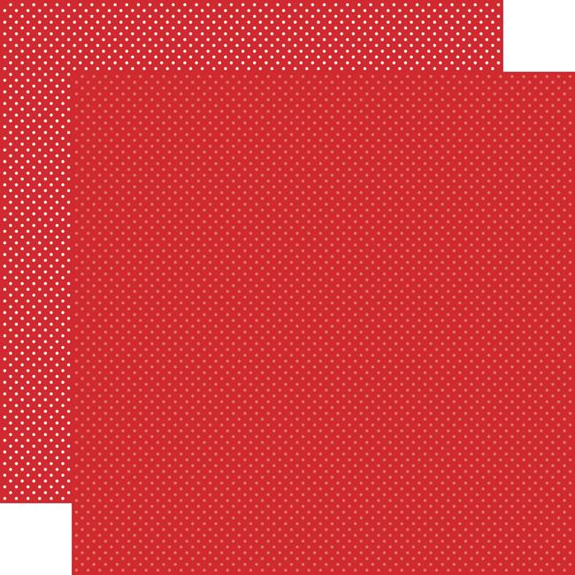 Carta Bella Dots & Stripes: Red Dots 12x12 Patterned Paper
