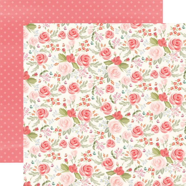 Farmhouse Market: Lovely Floral 12x12 Patterned Paper