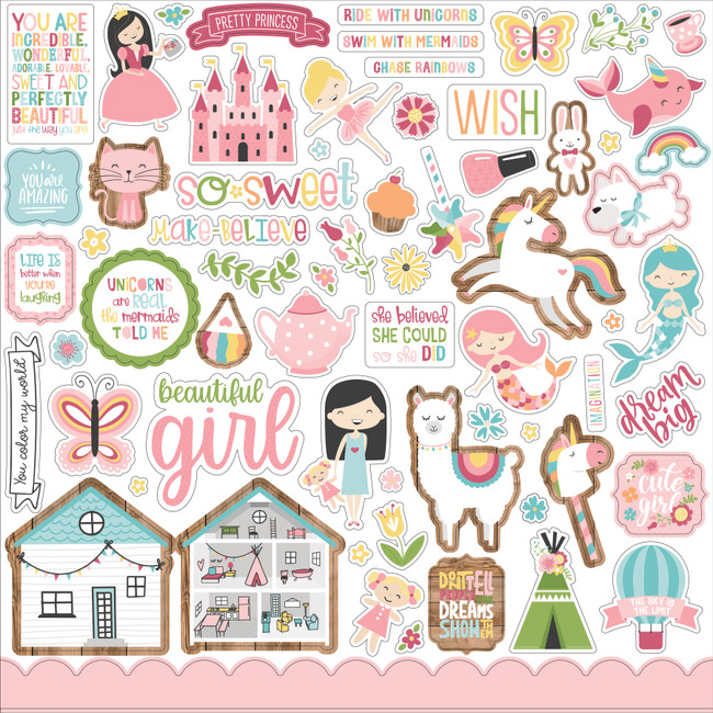 All Girl: Element Sticker