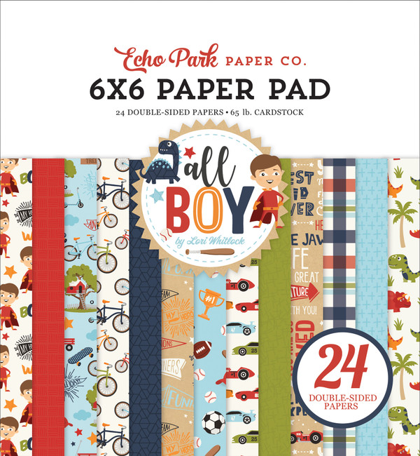 All Boy: 6x6 Paper Pad