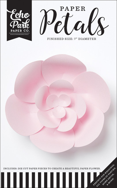 Paper Petals: Small Light Pink Peony
