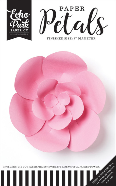 Paper Petals: Small Pink Peony