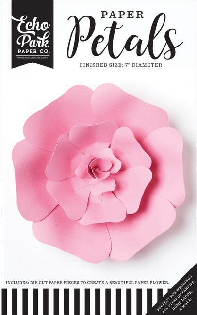 Paper Petals: Small Pink Rose