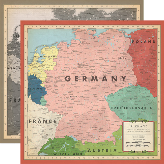 Cartography No. 2: Germany Map