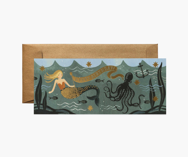 Rifle Paper Co: Under the Sea Birthday Card