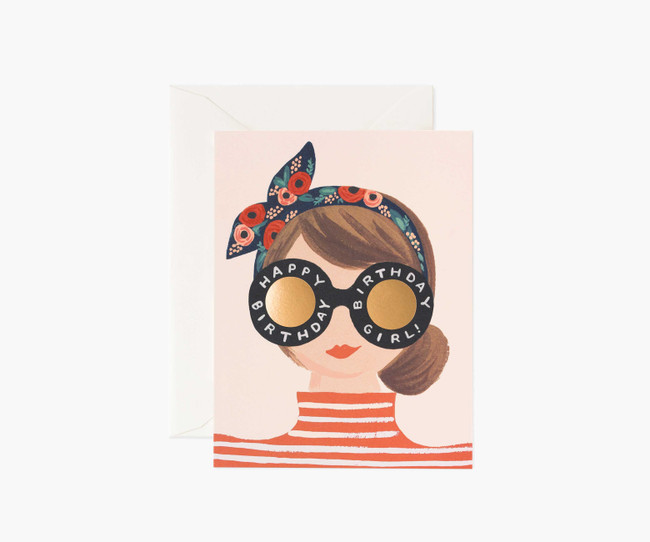 Rifle Paper Co: Birthday Girl Card