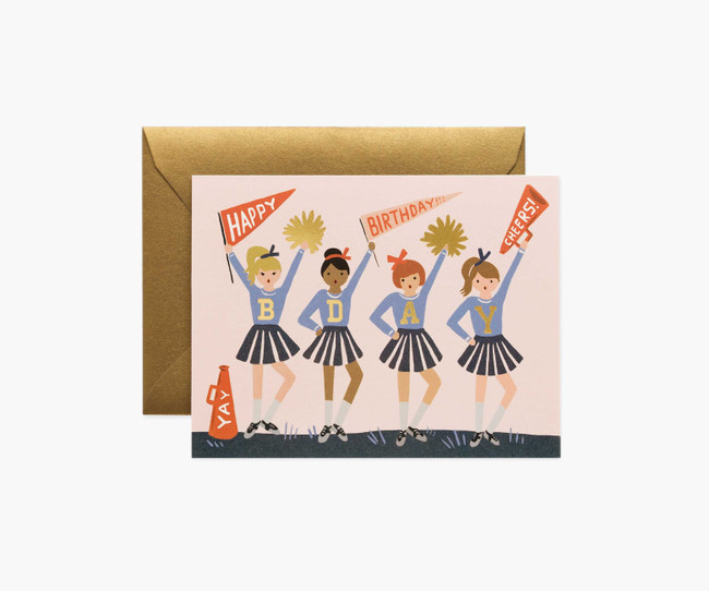 Rifle Paper Co: Birthday Cheer Card
