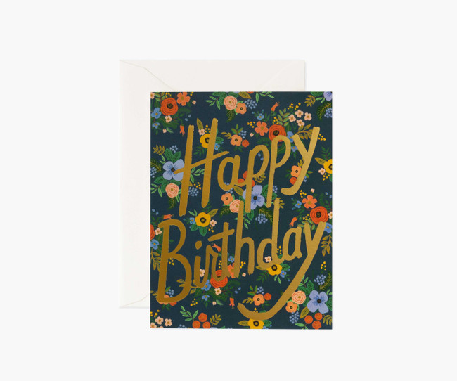 Rifle Paper Co: Garden Birthday Boxed Card Set