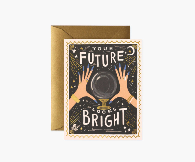 Rifle Paper Co: Your Future Looks Bright Card