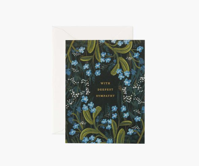 Rifle Paper Co: Sympathy Bouquet Card