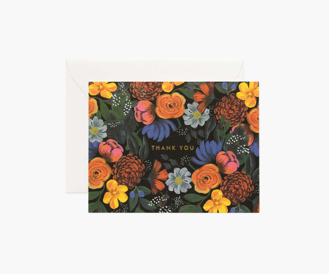 Rifle Paper Co: Odette Thank You Boxed Card Set