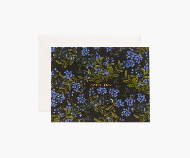 Rifle Paper Co: Cornflower Thank You Card
